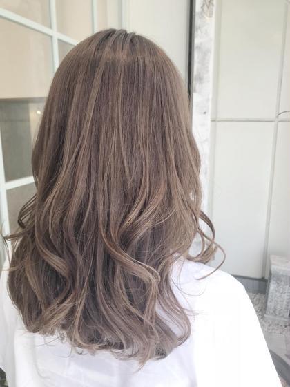 今、話題☆N.カラー+前髪カット+フローディア 3stepトリートメント