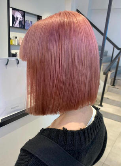 【U24限定】🌈カット+カラー+髪質改善トリートメント