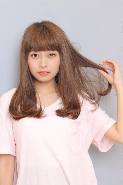 ☆ナチュラルロング☆ ZA/ZA 早稲田店所属・吉田涼二のスタイル
