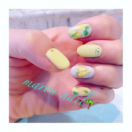 レモンネイル ¥3500 Maron  nail所属・マロンネイルのフォト