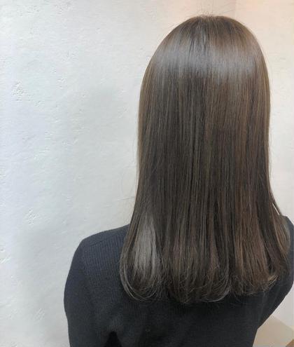 N.カラー使用ワンカラー+髪質改善トリートメント+スタイリング付き🍓