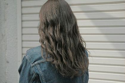 ブリーチなしの外国人風グレージュ hair&spa an  contour所属・鈴木輝のスタイル