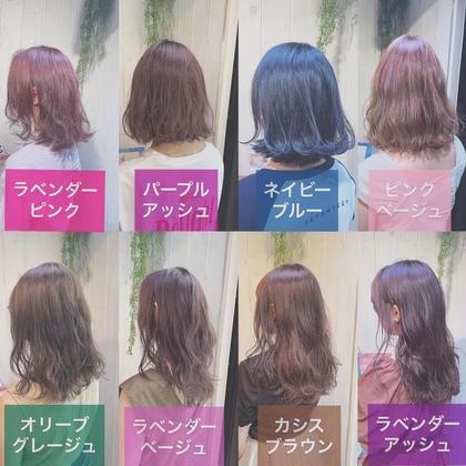 ❤️人気No.2❤️ 透明感抜群イルミナカラー&1stepトリートメント