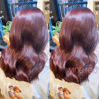 ❄️️贅沢フルコース❄️骨格似合わせ小顔カット+透明感カラー+髪質改善グロスアップトリートメント