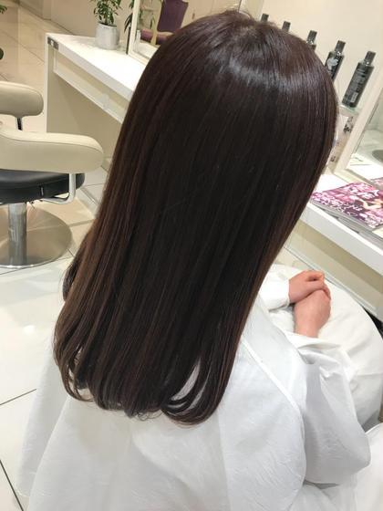🌈💛💚さらつや縮毛矯正➕カット➕髪質改善トリートメント💛💚🌈