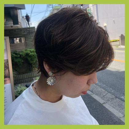前髪カット+前髪パーマ+トリートメント👼🏻💓
