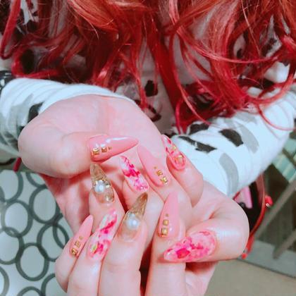 ロングネイル☆。.:*・゜いつもありがとうございます❥