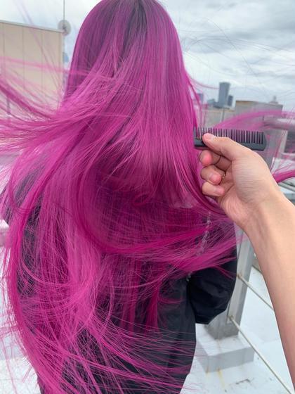 🍐【ダメージレストリプルカラーケアブリーチ】🍐➕5stepSteptreatment❤︎髪に優しいノーダメージカラー