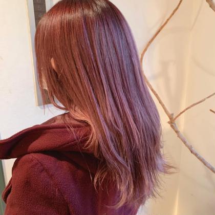 【U25】美髪ハイトーンWカラー+髪質改善トリートメント🤩🤩