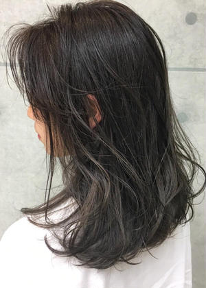 ☀️白髪染め根元しっかり染めます💪白髪染め+3step集中補修トリートメント☀️