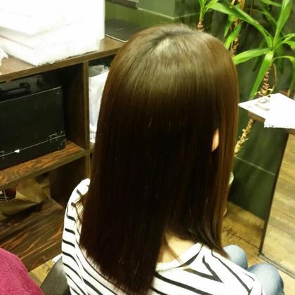 新しい縮毛矯正です。 NAP hair所属・鳥居政利のスタイル
