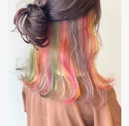 ♡カット+カラー+トリートメント♡【ロング料金含みません!】お好きなヘアスタイルスーパーサラサラケアコース