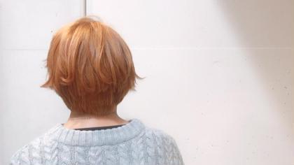 ショートでも可愛くコテアレンジ ☆  organic+mind所属・雲野明日香のスタイル
