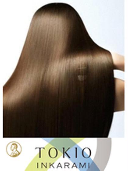新導入☆毛髪強度回復140%TOKIOトリートメント カット+カラー¥8900