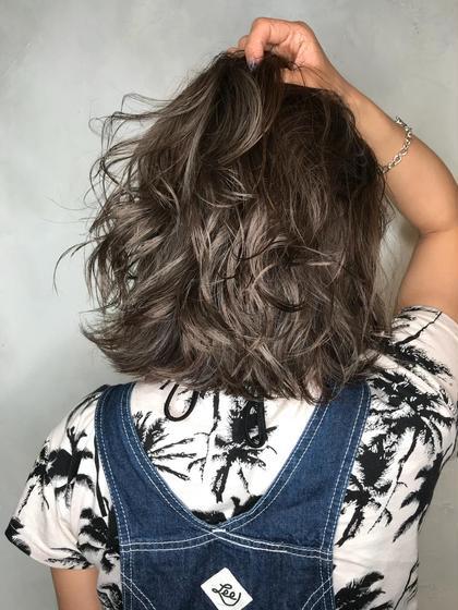 古田翔之のミディアムのヘアスタイル