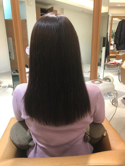 Hair WorkPROGRESS所属・内海茜理のスタイル