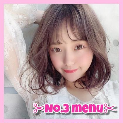 💥✨人気No.3✨💥 髪質改善ヘアエステ 似合わせカット ➕ 透明感カラー ➕ 酸熱トリートメント🧡