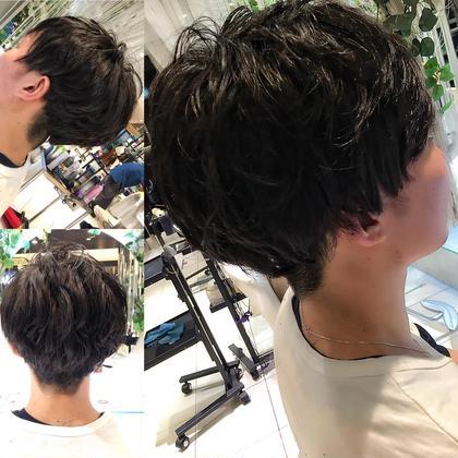 パーマ風マッシュメンズカットです!!! 東田瑞希のメンズヘアスタイル・髪型