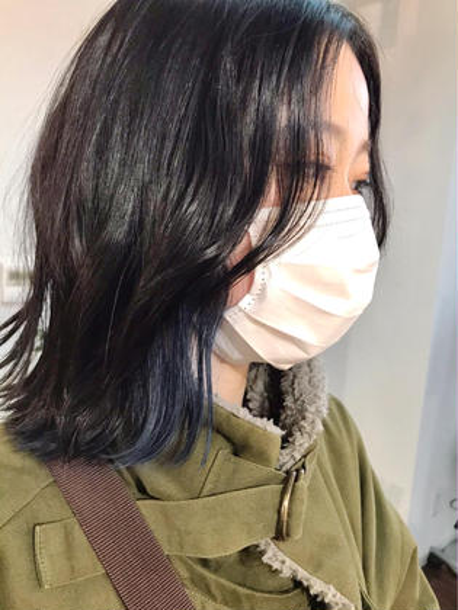 【ケアブリーチ】ダブルカラー+オリジナルトリートメント☘️