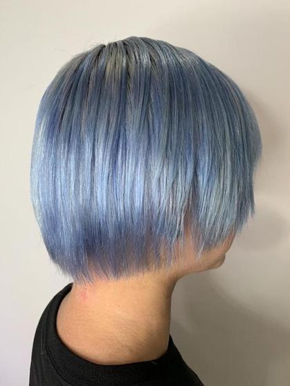 ☪️憧れの派手髪☪️  ブリーチ + カラーバター