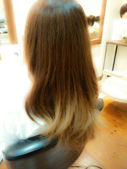 レイヤー グラデーションカラー hair work OPUS所属・田倉克健のスタイル