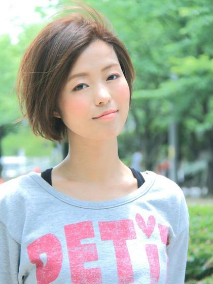 ショートの撮影モデルさんも募集中!!! Hair space COCO SHIBUYA所属・TOYODASAARAのスタイル