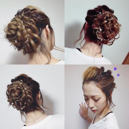 パーティスタイル!hair&make!! WiLL西宮所属・諏訪園由美のスタイル
