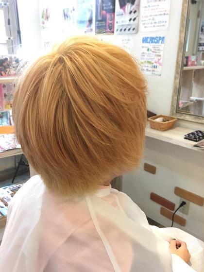 ダブルカラー✨ Hair Trip's所属・寺門光のスタイル