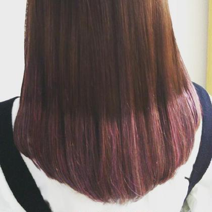 その他 セミロング ヘアアレンジ マツエク・マツパ 原色のヘアエクステ。 70cmで半分折りで、50本ついてます。