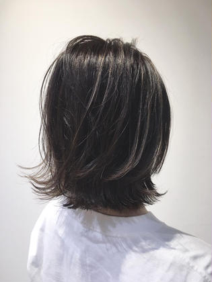 13❤️美髪カット×✨キラキラハイライト✨×ツヤツヤカラー❤️
