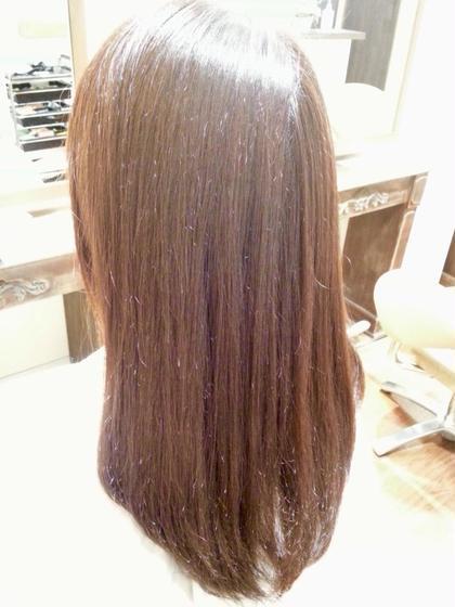 ツヤ髪カラーエステ Pensiero所属・髪質改善師トヨシマのスタイル