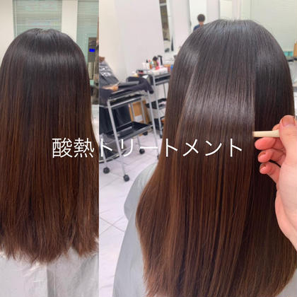💖都内で話題最先端トリートメント💖髪質改善酸熱トリートメント表参道で3万の高級トリートメントが5千円で❗️