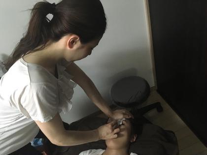 お鼻を高くする矯正 楽体整体院スーパー3D小顔矯正所属・丸谷総院長のフォト