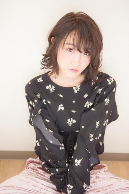 〈新規〉【柔らかパーマでイメチェン】デザインカット+柔らかパーマ¥11000→¥7700