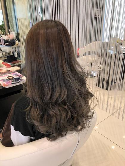 カット&艶髪ワンカラー
