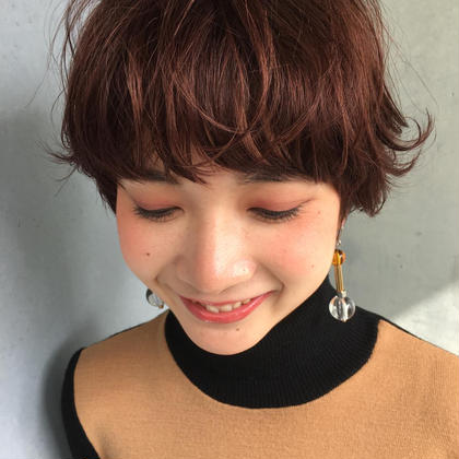 ショートヘアも得意です!!^ ^ BellaDolce omotesando所属・SUZUKIKEISUKEのスタイル
