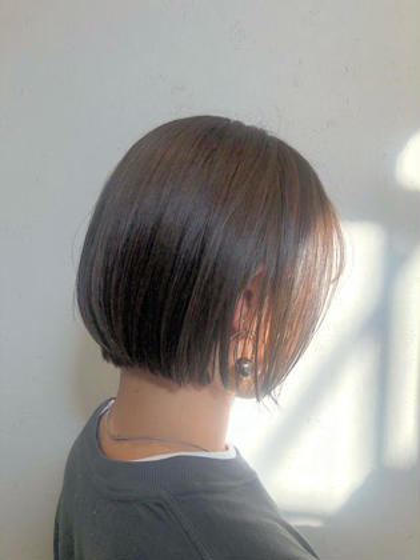 🌈【5月平日限定】最も頭皮、髪を痛めないホリスティックカラー+カット+美潤tr