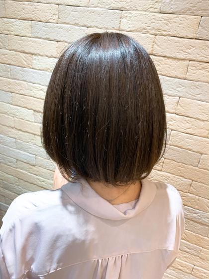 【7step最高級・潤い・ツヤ・コラーゲン】ミストカラー+プレミアム髪質改善トリートメント+魔法のマーブ🧙♀️💛
