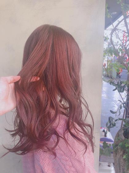♥︎人気メニュー♥︎💐前髪カット&ワンカラー💐