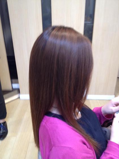 ストレート Hair Make Ash所属・大山晃介のスタイル