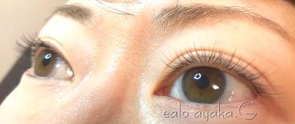 100本  0,1mm 9mm  10mm Jカール  ナチュラルデザイン Eyelash salon Ealo所属・Ayaka.GEaloアイリストのフォト