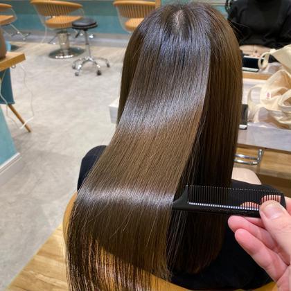 くせ毛スペシャリスト💫ナチュラル縮毛矯正+トリートメント💫応援、口コミで超音波アイロンサービス