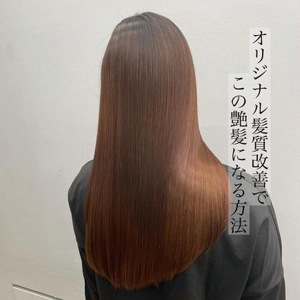 1日1名まで✨髪質改善モデル🗽【ロングヘア限定】