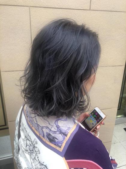 🌙 hair color 🌙ダメージレスに透明感あるカラーリングに🍀