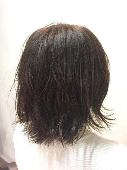大人可愛いネイビーカラー♪ CIEL Hair Salon所属・平塚大貴のスタイル