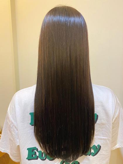 髪質改善カラー + 極上トリートメント✨