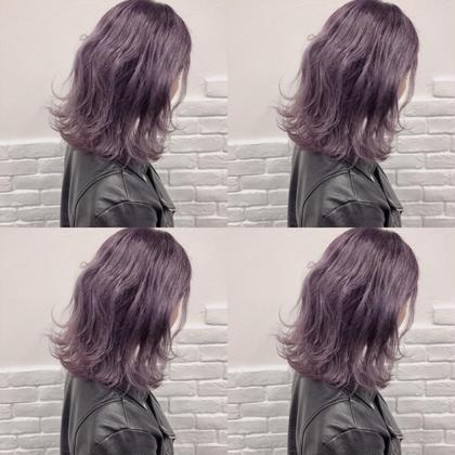 💞透明感抜群アディクシーカラー➕4step髪質改善ハホニコトリートメント💞
