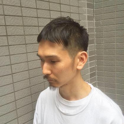 【メンズ人気No.1🌈】ナチュラル束感(全体)パーマ+カット