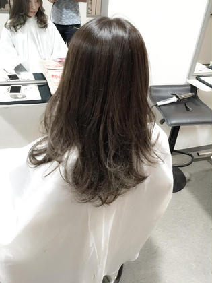 グレージュカラー&トリートメント  RIZE hair brand所属・吉本yoshimotoのスタイル
