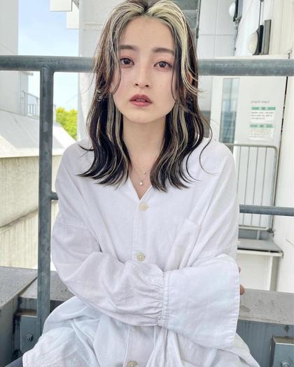 ✨1番人気✨ダブルカラーorインナーカラーorグラデーションカラー+メンテナンスカット+トリートメント ☆ブリーチ1回込